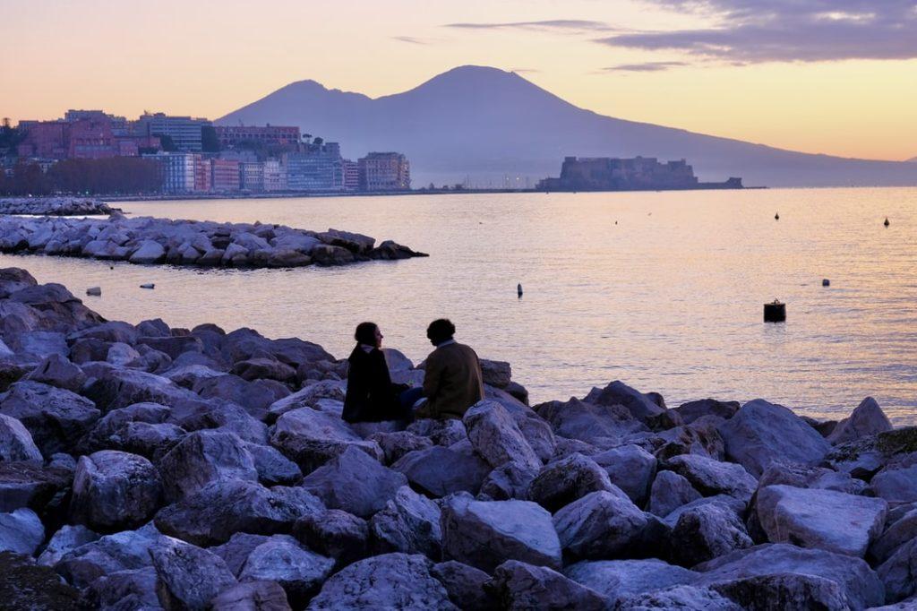 Coucher de soleil Naples