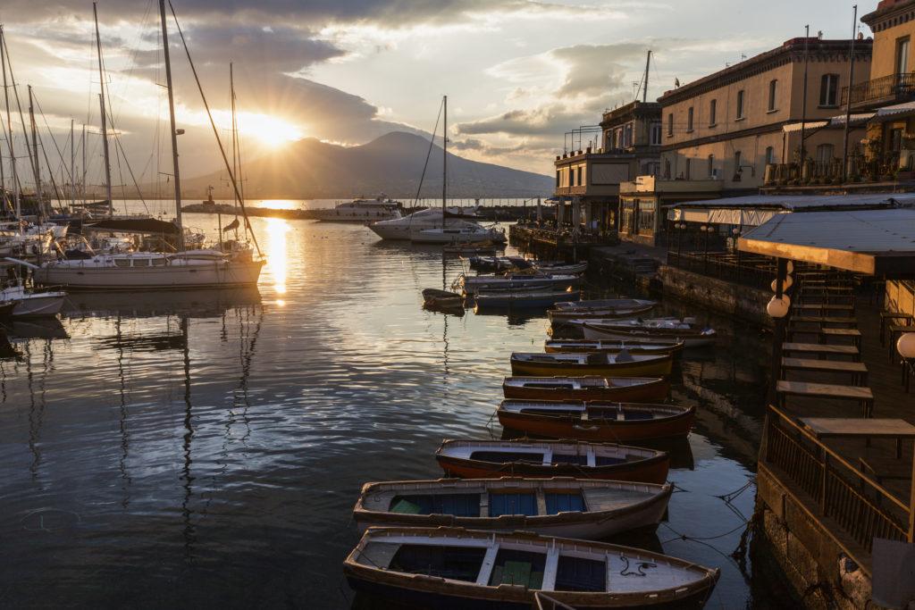 Lever de soleil Naples