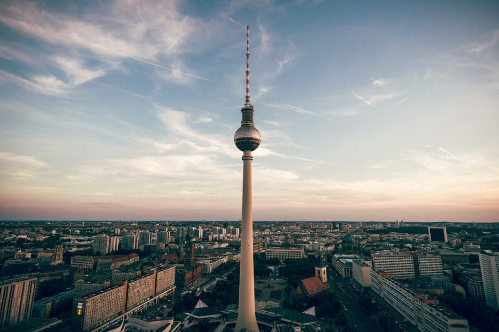 Tour de télévision Berlin