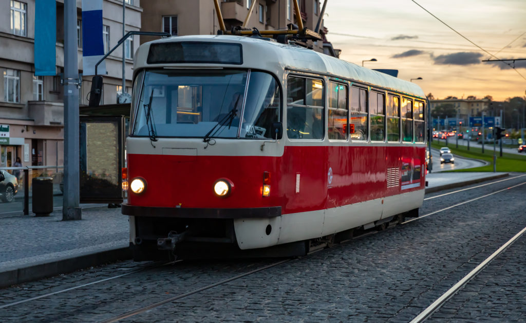 Tramway, Prague