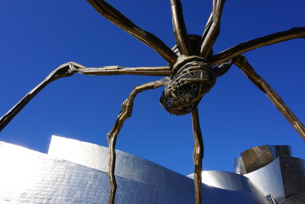 Maman, Louise Bourgeois, Musée Guggenheim de Bilbao