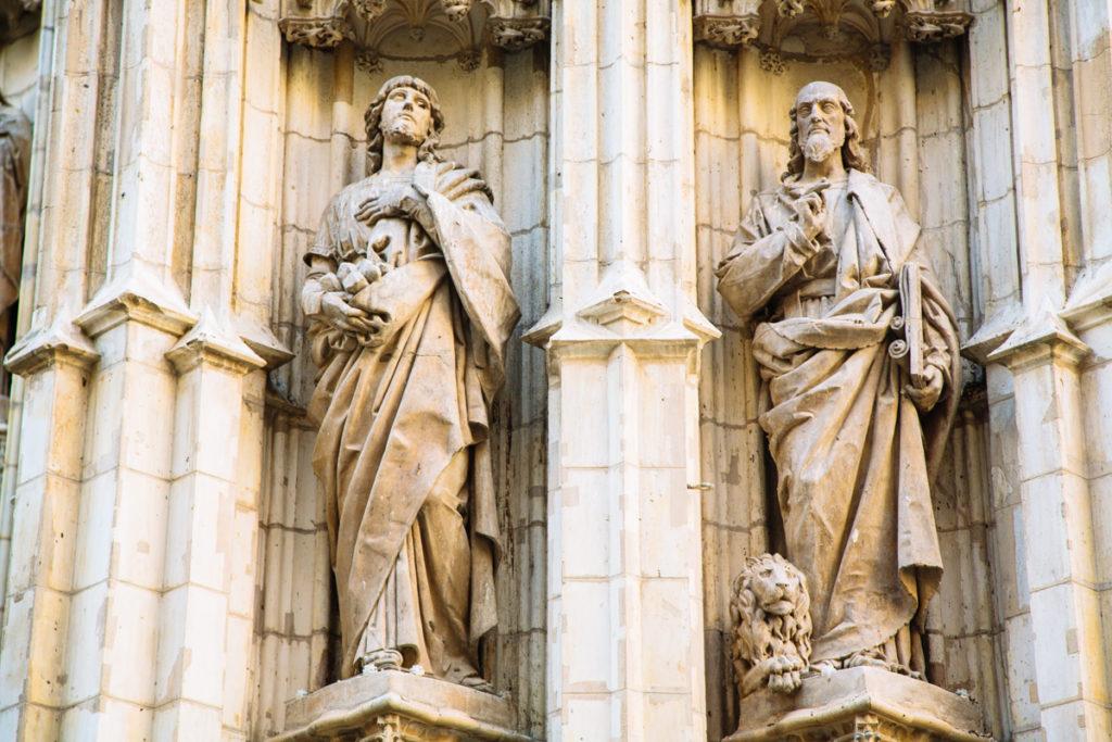 Statue, Cathédrale de Séville