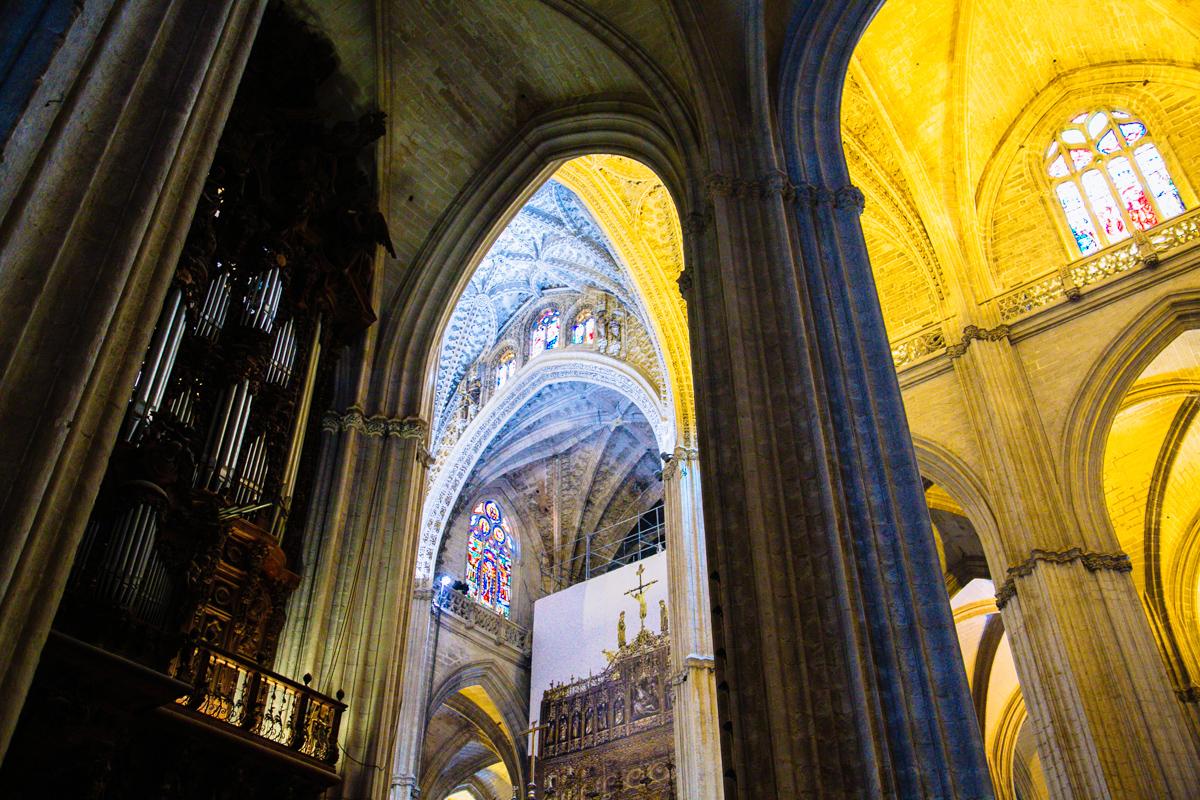 Intérieur de la Cathédrale de Séville