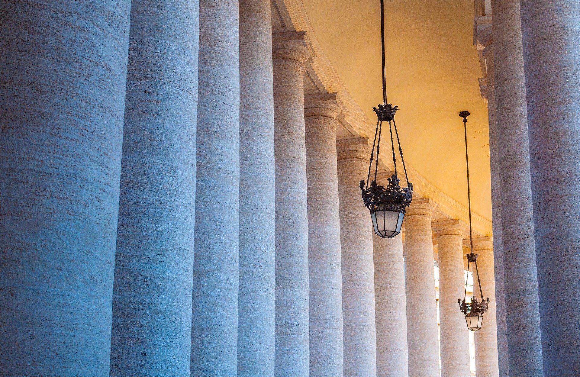 rome vatican colonne